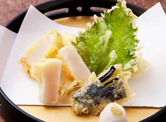半生ほたての天ぷら