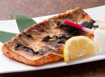 鮭の大とろ焼き